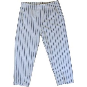 Youth Warp Knitted Pinstriped Pull-Up Baseball Pant