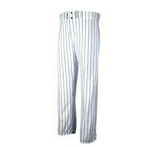 Youth Standard Fit 14 Oz. Wrap Knit Baseball Pant w/ Knitted Pinstripe
