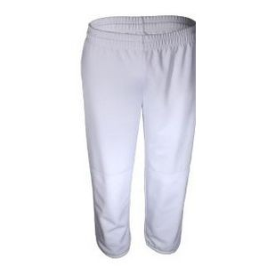Youth Stretch Double Knit Baseball/ Softball Pull Up Pant