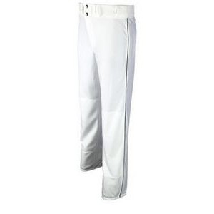 Youth Standard Fit 10 Oz. Stretch Double Knit Baseball Pant w/ Contrasting Soutache